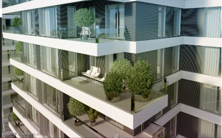 For sale are Premium class apartments in a new high-rise project Philosophers' Residence - Raņka dambis 34, 8