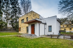 For sale is house of a chic design with land plot in Mezhapark district of Riga - Kārļa Vatsona  6A
